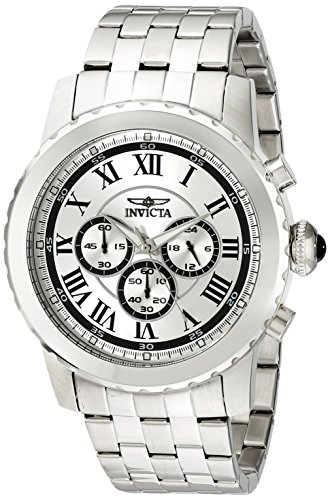 Invicta Men's 19467 Specialty Analog-Display Japanese Quartz Silver-Tone Watch