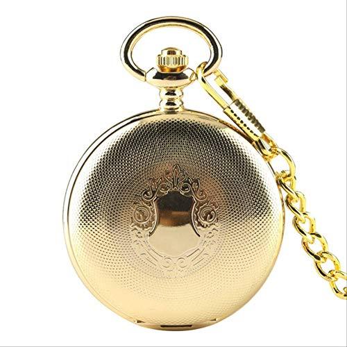 Plata Suave Reloj de Bolsillo Cadena Fob Mejor Regalo Hombres Mujeres Moda Steampunk Cadena de números Romanos