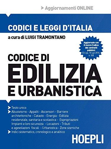 Codice di edilizia e urbanistica