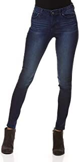 Blue Spice Juniors' High Rise Rolled Ankle Jeans