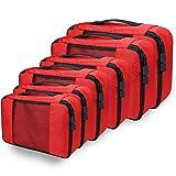 Kleidertaschen Kofferorganizer Set, Netspower Packing Cubes Packwürfel...