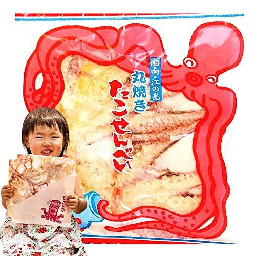 あさひ本店 江の島 丸焼き たこせんべい (1枚入4袋 ギフト 箱入) 江ノ島ご当地 タコせんべい お取り寄せ