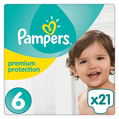 Pampers Premium Protection Windeln, Gr. 6, 21 Windeln