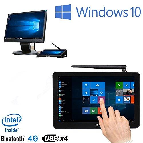 'PiPo X9S Mini PC 8.9Smart TV Box Intel Cherry Trail z8350Quad Core Windows 104GB RAM 64GB ROM Touch Screen Tablet