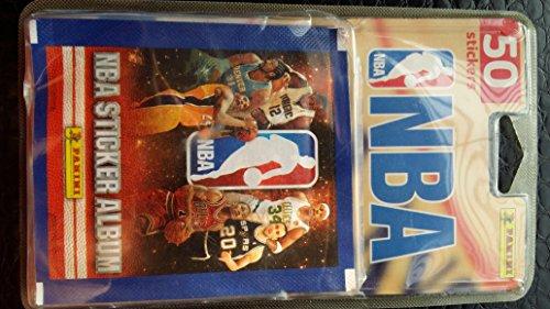 Panini -1648–038–Karten zum Sammeln NBA 50Sticker