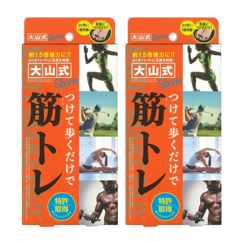 カウントアップ施し満足できる大山式ボディメイクパッド スポーツ ×2箱セット