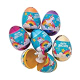 Fun Express Unicorn Filled Easter Eggs (Set of 12)