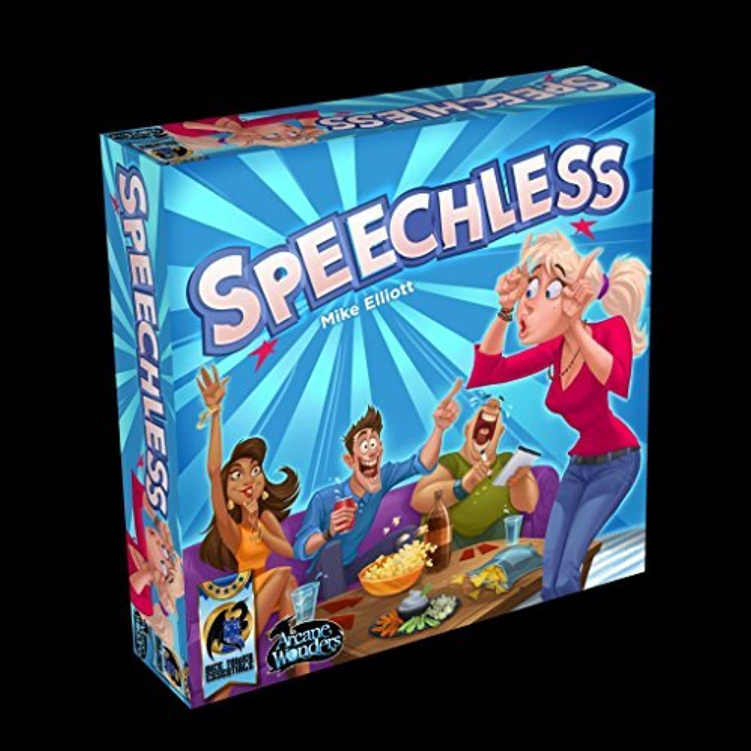 Speechless Game Board Game by Arcane Wonders