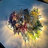 LED Vorhang Lichter, Butterfly Fairy Vorhang Lichter Fernbedienung dekorative Fenster Lichter, Fairy Lichterketten für Garten, Pavillon, Party, Terrasse und vieles mehr