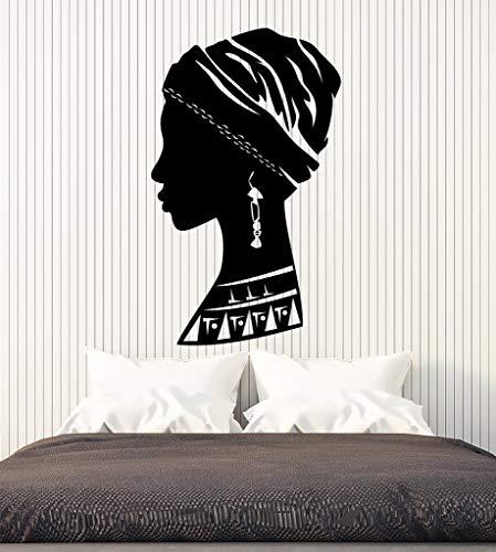 hetingyue Afrikaanse vinyl wandtattoo muursticker muurschildering