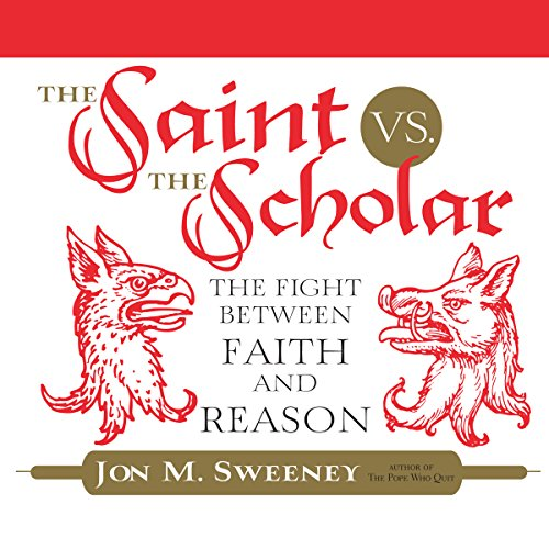 The Saint vs. the Scholar audiobook cover art