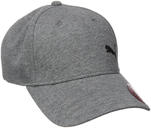PUMA Men s Evercat Trenton Relaxed Fit Adjustable Cap Gray Black One Size product image
