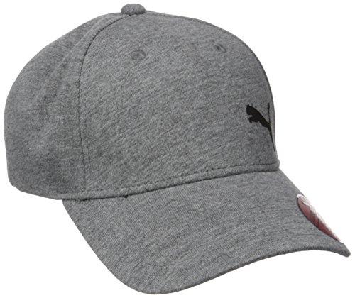 PUMA Herren Evercat Trenton Relaxed Fit Adjustable Baseball Cap, grau/schwarz, Einheitsgröße