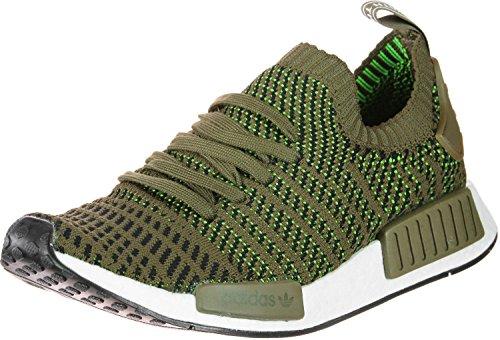 adidas Originals NMD_R1 Stealth Primeknit Sneaker CQ2389 Trace Olive/Slime Gr. 46 2/3 (UK 11,5)