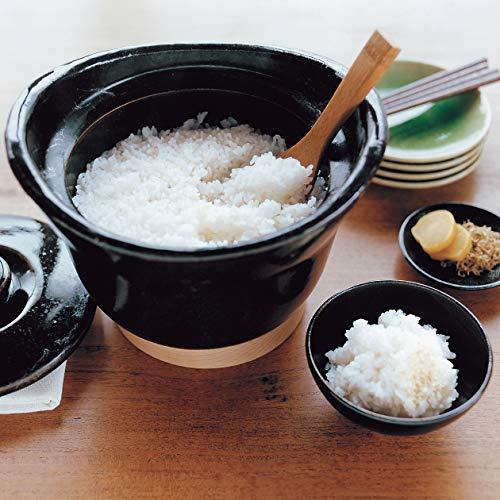 直火で火加減の調節も途中ですることなく、おこげ付きのご飯が炊ける「無印良品」の土鍋。
