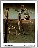 1art1 Salvador Dali Poster Kunstdruck und Kunststoff-Rahmen