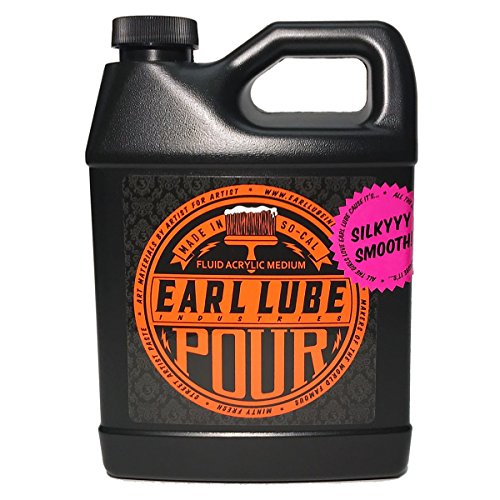 EARL LUBE Pour Fluid Acrylic Medium, 32 oz