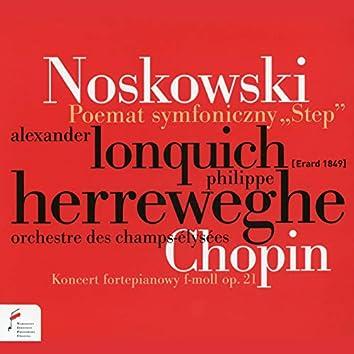 """Poemat symfoniczny """"Step"""", Koncert fortepianowy F-Moll"""