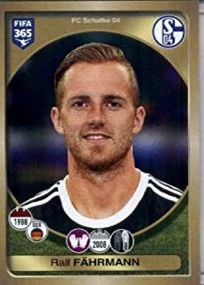 2016-17 Panini FIFA 365#324 Ralf FΣhrmann FC Schalke 04 Soccer Sticker