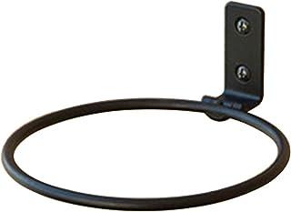 Tealight - Macetero de anillo, 3 unidades, redondo, para plantas, colgado en la pared, portamacetas de hierro, porta maceta, anillo porta maceta