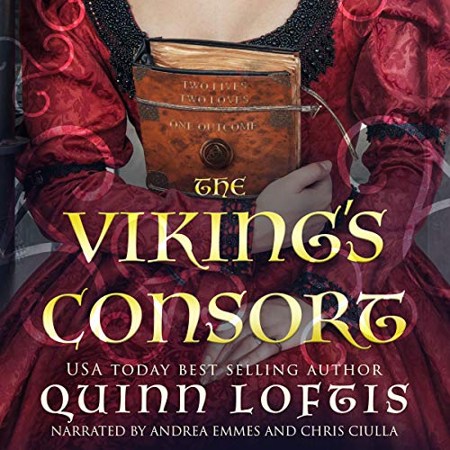 The Viking's Consort audiobook cover art