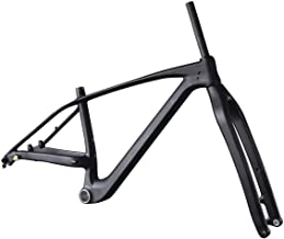 IMUST 29er Plus Mountain Bicycle Frame with Fork Carbon Boost Hub 148x12mm 110x15mm PF30 UDM