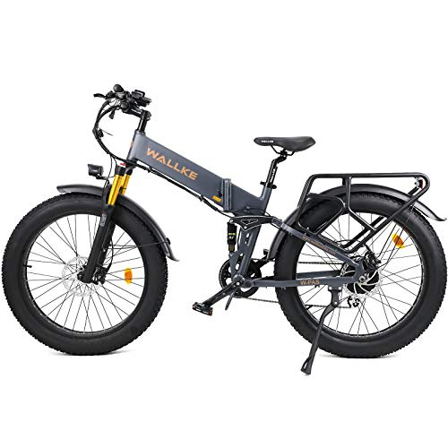 Our #7 Pick is the W Wallke X3 Ebike for Heavy Riders