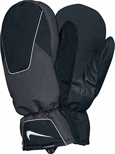 Nike Cold Weather II Mitts, Black/Dark Grey, One Size Fits All