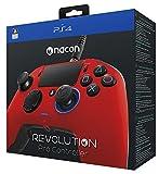 NACON Revolution Pro Manette de Jeu Playstation 4 Rouge - Accessoires de Jeux vidéo...