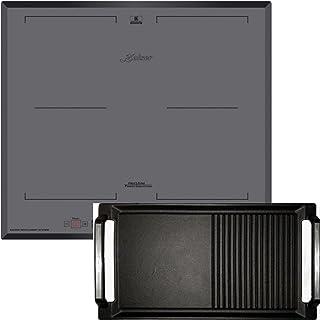 Kaiser KCT 6730 FIG Plaque de cuisson à induction avec plaque de cuisson, plaque à induction Kaiser Flex, verre gris, 60 cm
