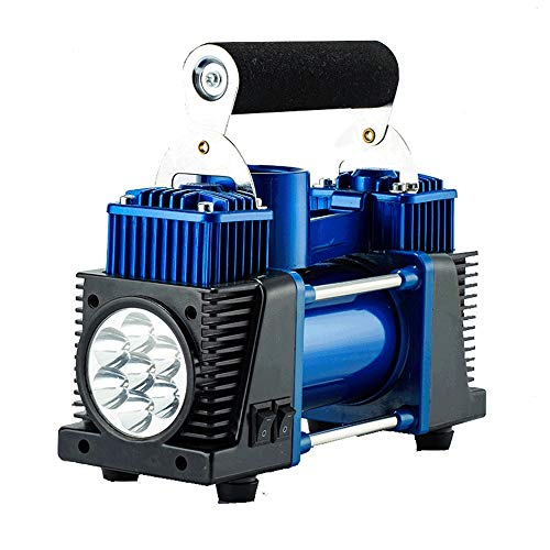 WNN-URG LED Digital del compresor de Aire de la Bomba 12V del neumático del Coche de la Bomba for inflar con Linterna de Emergencia URG