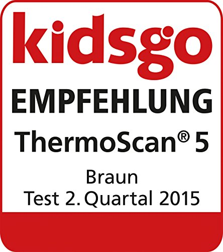 Braun IRT6020 ThermoScan 5 Ear Thermometer