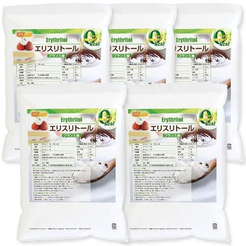 フランス産 エリスリトール 4kg×5袋 遺伝子組み換え材料不使用 カロリーゼロ 天然甘味料 [02] NICHIGA(ニチガ) 糖質制限 天然甘味料 砂糖代替甘味料