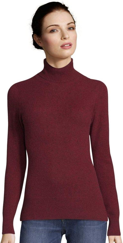 Cynthia Vincent Cashmere Turtleneck Sweater