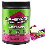UP-GRADE - Energy Drink Pulver - Polvo de Cafeína para una Mayor Concentración en los E-Sports - 600 g 60 Porciones (Sour Shock)