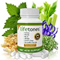 Lifetones Uric Acid Support Vitamins for Men and Women - Uric Acid Herbal Cleanse Detox - for Joint Comfort, Muscle Pain Relief, and Kidney Support - Non-GMO, Gluten Free - 60 Count from Lifetones