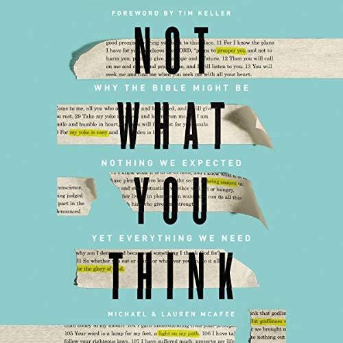 Not What You Think audiobook cover art