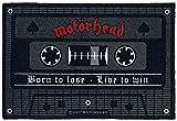 Motörhead Born To Lose - Live To Win Felpudo Multicolor, 100% Poliamida,