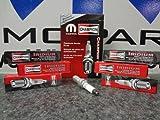 2011-2012 DODGE JEEP CHRYSLER 3.6L PENTASTAR SPARK PLUGS MOPAR GENUINE FACTORY OEM