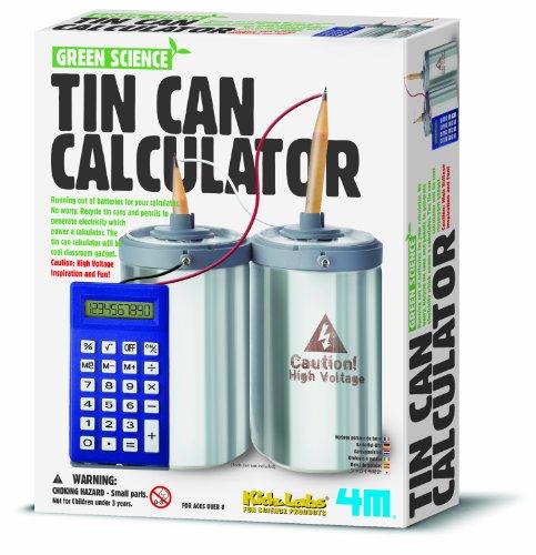 4 m Tin Can Calculatrice