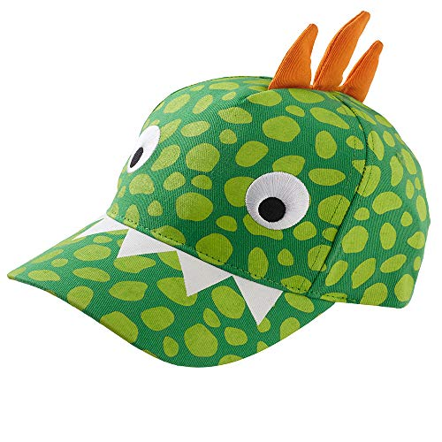 Boys Kids Dinosaur Shark 3D Baseball Peak Cap Summer Sun Hats - Dinosaur - 3-6 Years