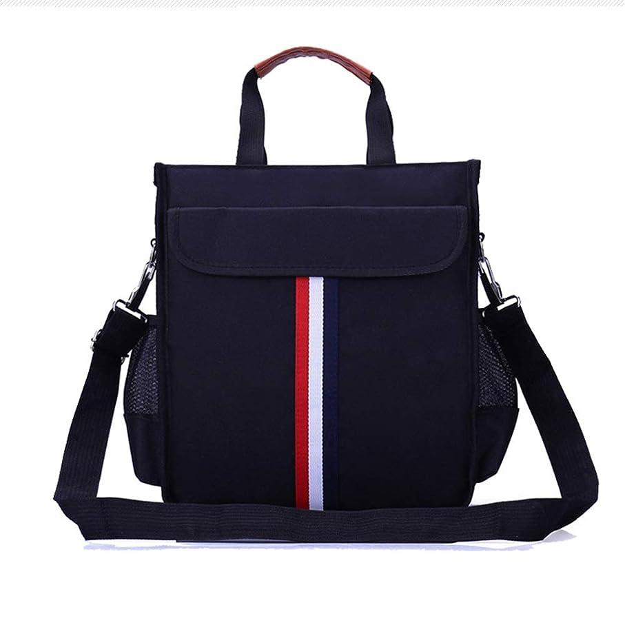 ズーム優雅な有名な英国スタイルのファッション黒学生バックパックポータブルスクールレジャー旅行屋外大容量 いいよ