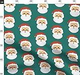 Weihnachten, Weihnachtsmann Stoffe - Individuell Bedruckt