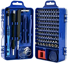 Rimposky 110 in 1 Screwdriver Set,Professional Multi-function Screwdriver Magnetic Repair Tool Kit Compatible with Cell Ph...