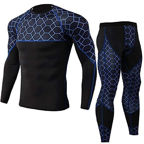 Hombres Trajes Deportivos Running Conjuntos de los Hombres Camiseta Pantalones de Jogging Traje de Deporte