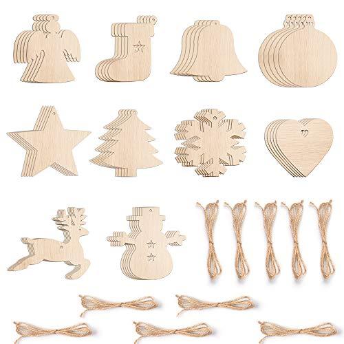 in carta artigianale misure 5.5 cm x 5.5 cm ideale per lavori di artigianato 120 etichette per regali natalizi a forma di stella