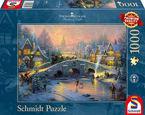 Schmidt Spiele 58450 - Thomas Kinkade
