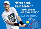 Andy Murray Poster Tennis Motivative & inspirierende Zitate