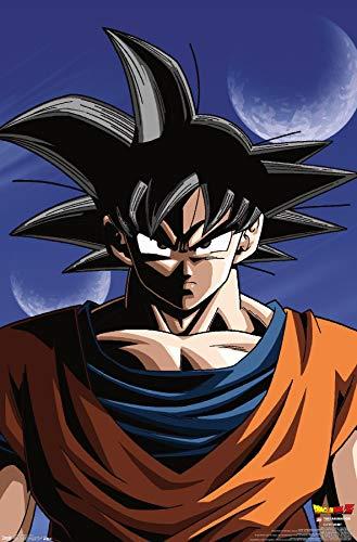 Trends International Dragon Ball Z - Goku Wall Poster, 22.375' x 34', Unframed Version