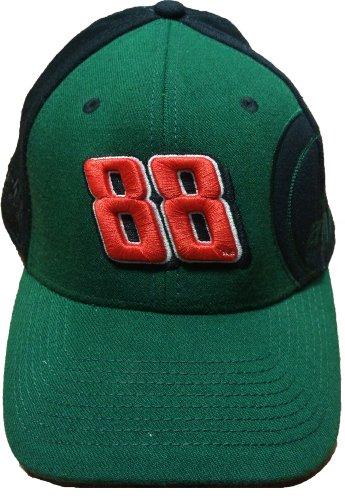 NASCAR Dale Earnhardt Jr #88'Big Number Flex Cap Amp Energy Flex Fit Hat Green